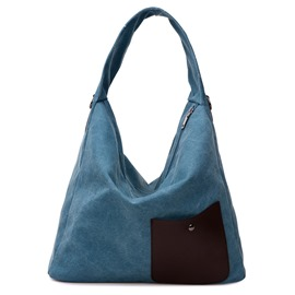 Ericdress Big Capacity Canvas Handbag