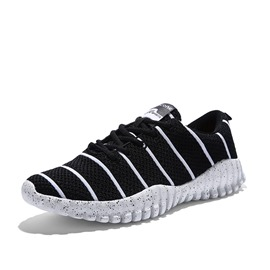 Ericdress Breathable Mesh Striped Printed Men's Sneakers