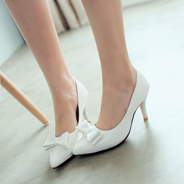 Ericdress Princess Bowtie Pumps