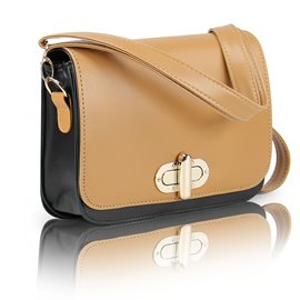 Ericdress Korean Patent Leather Crossbody Bag