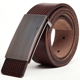 Ericdress Versatile Men's Smooth Belt