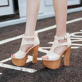 Ericdress European Platform Chunky Sandals