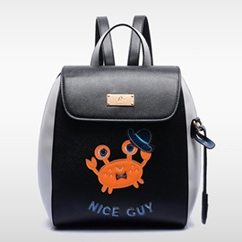 Ericdress Lovely Crab Backpack