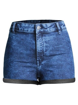 Ericdress Fashion Simple Denim Shorts