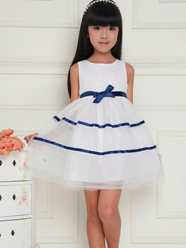 Ericdress Sleeveless Summer Girls Dress