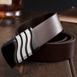 Ericdress S Design Men's Smooth Belt