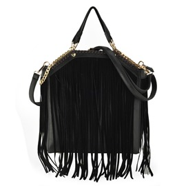 Ericdress Casual Tassel Nubuck Leather Handbag