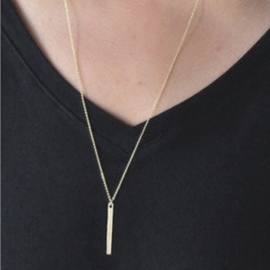 Ericdress Classic Geometric Pendant Alloy Necklace