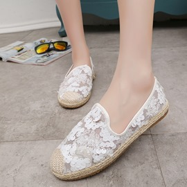 Ericdress Sequins Mesh Loafers