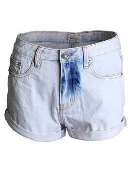 Ericdress Fashion Tie-dyed Denim Shorts