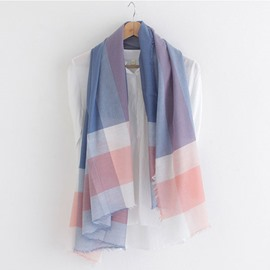 Ericdress Simple Plaid Print Scarf