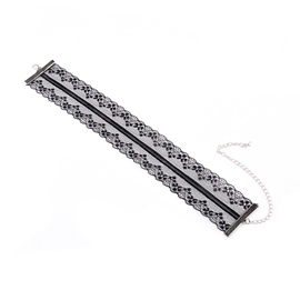 Ericdress Lace Hollow-Out Choker Necklace
