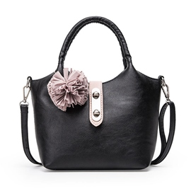 Ericdress Color Block Floral Ball Handbag