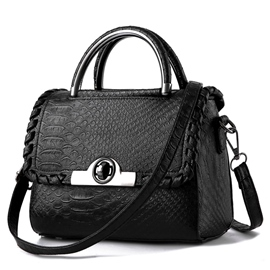 Ericdress Weaved Serpentine Handbag