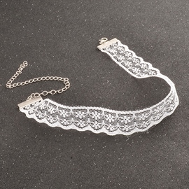 Ericdress Lace Design Choker Necklace