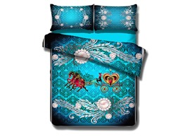 Ericdress Pearl Carriage Print 3D Bedding Sets