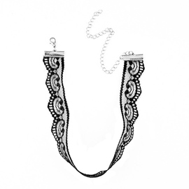 Ericdress Fashion Lace Design Choker Necklace