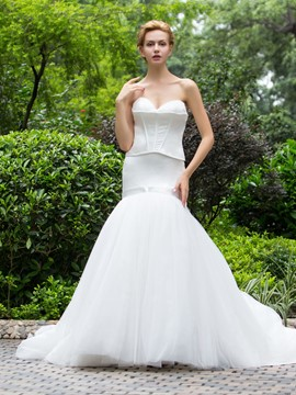 Ericdress fashionable Sweetheart Mermaid Wedding Dress