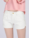 Ericdress Casual Solid Color Shorts