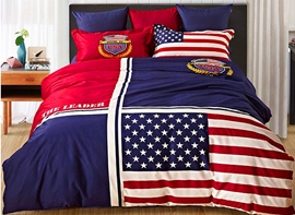 Ericdress New York Memories Cotton Bedding Sets