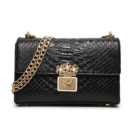 Ericdress Celebrity Croco-Embossed Crossbody Bag