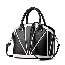 Ericdress Vogue Patchwork Shell Handbag
