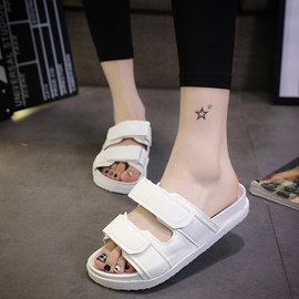 Ericdress Charming Solid Color Flat Sandals