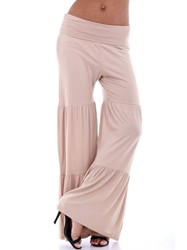 Ericdress Loose Pleated Pants