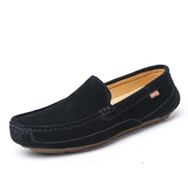 Ericdress Square Toe Slip-On Low Heel Men's Loafers