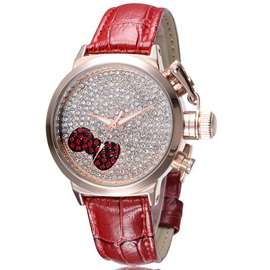 Ericdress Diamante Bowtie Quartz Watch