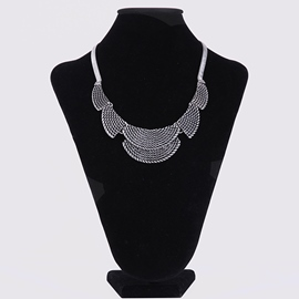 Ericdress Scale Pendant Short Necklace