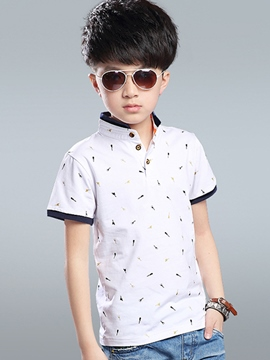 Ericdress Polo Short Sleeve Boys T-Shirt