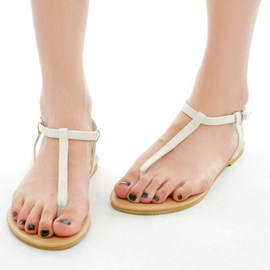 Ericdress Hot Selling Clip Toe Flat Sandals