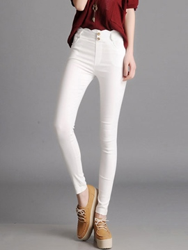 Ericdress Simple Skinny Pencil Leggings Pants