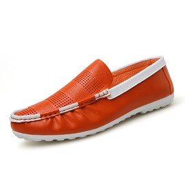 Ericdress Color Block Low-Cut Slip-On Men's Loafers