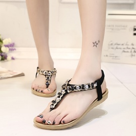Ericdress Lovely Thong Flat Sandals