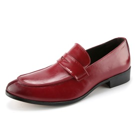 Ericdress Charming Slip-On Square Heel Men's Oxfords