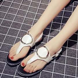 Ericdress Slingback Thong Flat Sandals