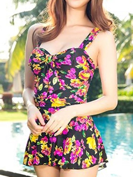 Ericdress Floral Casual Beach Swimwear
