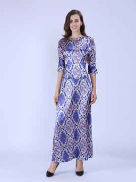Ericdress Chic Long Sleeve Maxi Dress