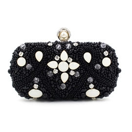 Ericdress Noble Beaded Embroidery Evening Clutch