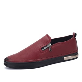 Ericdress PU Side Zipper Men's Casual Shoes