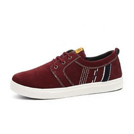 Ericdress Chic Round Toe Lace up Men's Casual Shoes