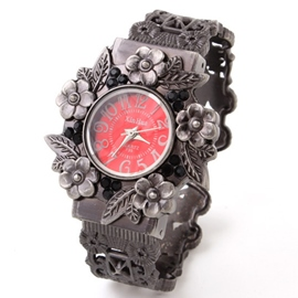 Ericdress Vintage Floral Quartz Watch