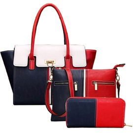 Ericdress European Thread Decorated Handbags(3 Bags)
