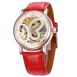 Ericdress Diamante Butterfly Hollow Mechanical Watch