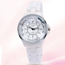 Ericdress Trendy Quicksand Ceramics Watch