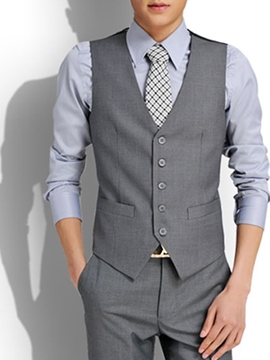 Ericdress Elegant Slim Men's Vest