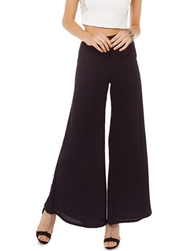 Ericdress Loose Chiffon Flared Pants