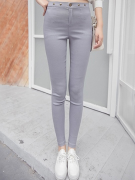 Ericdress Simple Skinny Leggings Pants